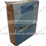 High frequency weld Clear/Frosted PVC Quilt cover/Four set Bag whit Hook and Snap Button
