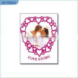 Voice wedding invitation cards,paper card,voice recorder,	beautiful photo frames