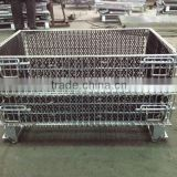 Customed Stainless Steel Collapsible Basket/ Metal Wire Basket
