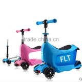 3 in 1 kids slide car 4 wheel kids plastic scooter for children