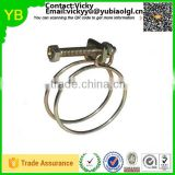 custom galvanized double wire quick release hose clip