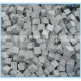 China G341 Grey granite rough cut cobblestone paver for driveway and patio