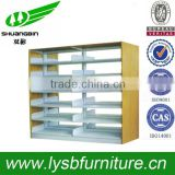 Environmental safety and comfortable harmless assembly metal book shelf, portable book shelf, folding book shelf