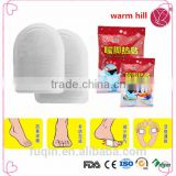 China supply free samples heat pad toe warmer Free samples pad footings toe warmer toe patch for foot