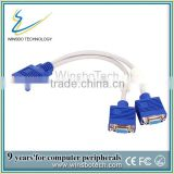 One Male to Two Female vga cable &vga to red white yellow cable &rs232 vga cable