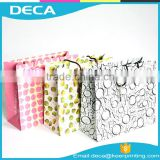 Custom Printed Paper shopping bag Personalized gift paper bag packaging                                                                         Quality Choice