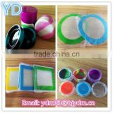 3ml silicone container for wax/oil silicone gel pad pat baking mat