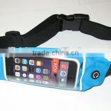 Factory Wholesale Running fitness waist pack belt, lightweight waterproof storage with expandable pocket