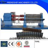 Galvanised Two Rollers Corrugated Roll Forming Machine 4 - 8mm with Panasonic PLC Control System