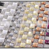 Beautiful 24*40 hotfix crystal rhinestone trim sheet                                                                         Quality Choice