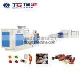 central-filled soft milk candy machine/central-filled soft milk candy manufacturing machine