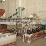 waste plastic granulator with compactor