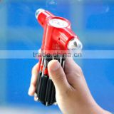 Wholsale Car Window safety hammer multifunctional screwdriver flashlight emergency rescue