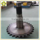 XCMG Motor Grader Spare Parts Meritor drive axle spare parts GR Sprocket shaft 85763003 85513030 85513031