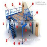 competitive price / heavy loading / Industrial Mezzanine Rack /multi- floors and more,hot sale