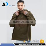 Oem fleece with drawstring and pockets black casual pullovers brown oversized fashion men winter sweatshirt hoodie