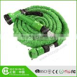 Small fast selling items hand car wash equipment Magic Hose Flexible Garden Hose with 7 functions sprayer