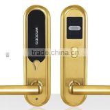 Gold Factory Supplier stainless steel door lock -- high quality swipe card electronic lock