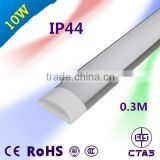 Factory price 30cm 10W IP44 linear tube 90lm/w use in surpermarket and warehouse led linear light