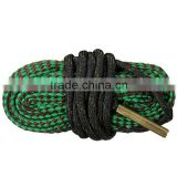 Wholesale Green Bore Snake Rope 22 Cal 5.56mm 223 Caliber Gun Rifle Cleaning Cord Kit Hunting Gun Cleaning Accessories