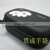GC---New black color anti-shock Travel Packing cosmetic Cubes EVA bag