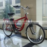 steel painting suit for men use red color economical model on gear derailleur electric bicycle for city use