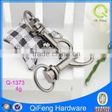 Q-1373 metal spring hook international market bag metal fittings copper dog leash swivel hook