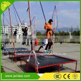 Thrilling games outdoor equipment bungee trampoline for adult