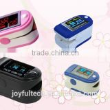 Fingertip infant pulse oximeter for measuring the pulse oxygen saturation and pulse rate