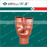 Special Tee (3 ports are inside diameter) Copper Fitting Pipe Fitting Air Conditioner Parts Refrigeration Parts Plumbing Parts