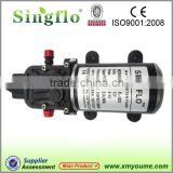 Inquiry about Singflo 12 volt DC water pump/high pressure water pump/ small electric water pump