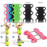 Novelty Magnetic Casual Sneaker Shoe Buckles Closure No-Tie Shoelace New