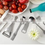 Manual Plastic Vegetable and Fruit Slicer with Stainless Steel Cutters Tableware Cutlery tools