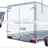 hot-sale 1 tons insulation box/ refrigerated trailer /refrigerator trailer with refrigerator units