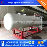 2.5Ton mini LPG filling tank 5m3 LPG refilling plant home cylinders bottling filling plant