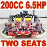 200cc 6.5HP 2 Seat Go Kart for kids