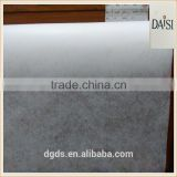 China manufacturer Oeko-Tex Standard 100 garment Fusible nonwoven Gum stay interlining 1025SHF backing paper embroidery
