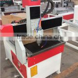 XJ6090 cnc router for wood aluminium metal carving with water tank