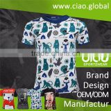 Unique silk screen printing cloth material fabric t shirt printing ink