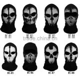Original Balaclava Ghost Masks Skull Paintball Hats Army Motorcycle WarGame Airsoft Military Tactical Full Face Mask