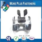 Made in Taiwan High Quality Individual Clips Stainless Steel Clip Spring clip
