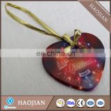 sublimation ceramic personalized christmas ornaments