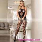 Sheer Nylon Bodystocking Women Sexy Full Body Stocking