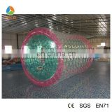 water roller ball, inflatable water roller, zorbing ball