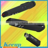 Promotional USB wireless red laser pointer for PPT