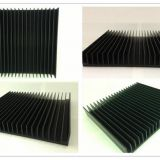 Professional Heatsink Extruded Aluminium Profile , Milling Heatsink Extrusion Profiles