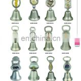 2014 new design souvenir wedding bell/brass dinner bells/dinner table bell