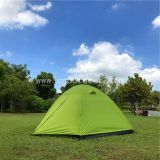 Family 6 person tent,double layer outdoor camping dome tent