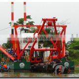 Best-seller! Sand dredging machine with double diesel engines