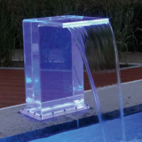 artificial waterfalls for garden swimming pools
